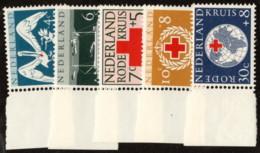 NTH SC #B311-5 MNH 1957 S-P/Netherlands Red Cross CV $5.00 - Period 1949-1980 (Juliana)