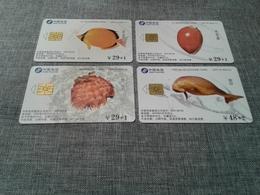 China - 4 Nice Phonecards - China