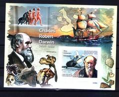 М 027 Darwin  Dinosaurs Prehistoric Imperf - Preistorici