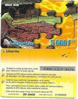 @+ Gabon - Libertis - Woleu-Ntem (31/03/2003) - Gabon
