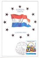 EUROPA UNITA LUXEMBURGO FDC   1993 MAXIMUM POST CARD (GENN200147) - Comunità Europea