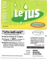 @+ Gabon - Mango - 5000 FCFA (02/10/2004) - Gabon