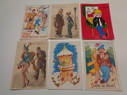 Beau Lot De 60 Cartes Postales De Fantaisie CPSM  Grand Format     Mooi Lot Van 60 Postkaarten Fantasie  Groot Formaat - Cartes Postales