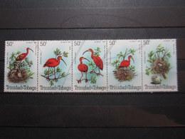 VEND BEAUX TIMBRES DE TRINITE & TOBAGO N° 413 - 417 , XX !!! - Trinité & Tobago (1962-...)