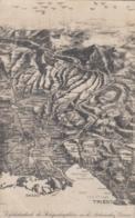 AK - Vogelschaukarte Des Kriegsschauplatz An Der Italienischer Grenze - Landkarten