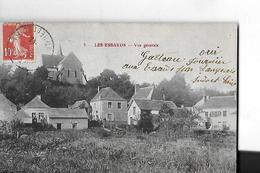 LES ESSARDS N 1   VUE GENERALE   MAISONS      DEPT 37 - Autres Communes