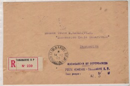 MADAGASCAR       N°  YVERT  LETTRE     OBLITERE - Madagascar (1889-1960)