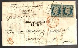 26937 - N° 10 En Paire Pour La SAVOIE SARDE - 1849-1876: Periodo Classico