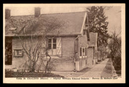 51 - MOURMELON-LE-GRAND - CAMP DE CHALONS - HOPITAL MILITAIRE EDMOND DELORME - Camp De Châlons - Mourmelon