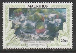 Mauritius 1996 Environmental Protection 20 C Multicoloured SW 831 O Used - Mauritius (1968-...)