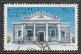 Mauritius 2005 Historical Monuments And Natural Stone Buildings In Mauritius 16R Multicoloured SW 1023 O Used - Mauritius (1968-...)