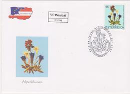 FDC 2007 - Mi 2631(3) , Freimarke : Blumen - Alpenblumen , SST 5010 Salzburg - 1945-.... 2a Repubblica