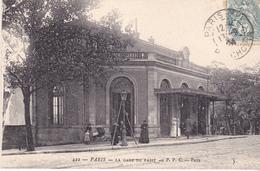 AVIT18-  PARIS  LA GARE DE PASSY   CPA CIRCULEE - Distretto: 16