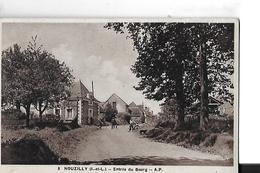 NOUZILLY   ENTREE  DU BOURG      DEPT 37 - France