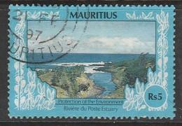 Mauritius 1991 Global Conservation 5R Multicoloured SW 747 O Used - Mauritius (1968-...)
