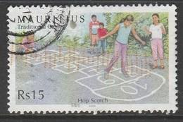 Mauritius 2006 Children's Games 15R Multicoloured SW 1046 O Used - Mauritius (1968-...)