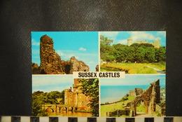 CP, Sussex Castles Pevensey Arundel Hurstmonceux Hastings - Arundel