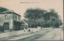 MAREUIL SUR AY- LA GARE - Mareuil-sur-Ay