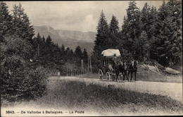 Cp Vallorbe Ballaigues Kanton Waadt, La Poste - VD Vaud