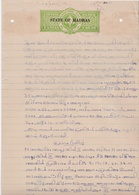 INDIA Travancore-Cochin 2-ANNAS Court Fee DOCUMENT 1952 Good/USED - Travancore-Cochin