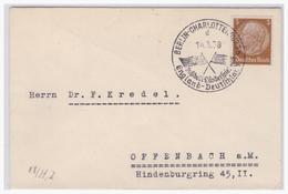 Dt.-Reich (001091) Sonderstempel Berlin- Charlottenburg, Fußball- Länderspiel, England- Deutschland Am 14.5.1938, Gelauf - Deutschland
