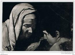 PERUGIA:  BASILICA  DI  S. PIETRO  -  S. FRANCESCA  ROMANA (Caravaggio)  -  FOTO  -  FG - Quadri, Vetrate E Statue