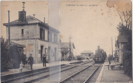 CPA LUMERAY  LA GARE - France