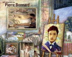 Guinea  Bissau  2012  Painting Of  Pierre Bonnard - Guinea-Bissau