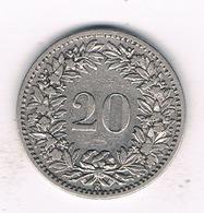 20  RAPPEN 1900  ZWITSERLAND /311/ - Zwitserland