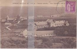 CPA AUBRAC  VUE GENERALE CÔTE NORD - Aumont Aubrac