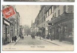 Sceaux Rue Houdan,commerces ,devantures De Magasins - Sceaux