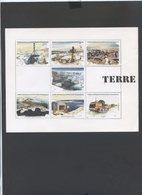 Superbe BLOC DES TAAF ...2001  TERRE ADELIE    Tres Grosse Cote - France