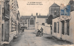 ¤¤  -   LA PLAINE-sur-MER   -   Rue De Préfailles, Près De L'Eglise   -  Moto , Side-Car     -   ¤¤ - La-Plaine-sur-Mer