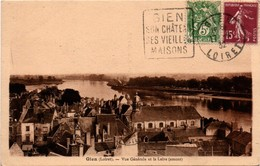 Gien 1932 Loiret - Daguin - Chateau Vieilles Maisons - Marcophilie (Lettres)