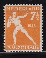 NL 1928, Sport Nvphnr 216 Plakkerrest / Mlh. - Ungebraucht