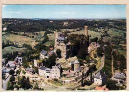 X19020 TURENNE Correze Vue Générale Dominée Par Les Ruines Du Château Des Seigneurs 1960s THEOJAC 203 - Francia