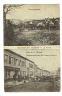 57 MOSELLE CREUZWALD LA CROIX Vue Générale Rue De La Houve Droguerie épicerie De Pourny-Collmann - Creutzwald
