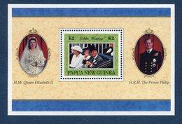 Nouvelle Guinée - YT Bloc - Neuf Sans Charnière - Golden Wedding - Guinée (1958-...)
