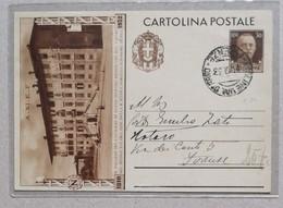 Cartolina Postale Figline-Firenze - 11/07/1933 - 1900-44 Victor Emmanuel III
