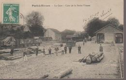 PORT A BINSON - LA GARE - Montmirail