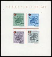 (*) N°1 - Bloc Croix-Rouge : Les 3 Blocs : ETAT RHENO-PALATIN, BADE Et WURTEMBERG. ND. SUP. - France (former Colonies & Protectorates)