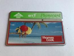 England - Thomas Cook 50 Units 650C - 0990 666 222 - BT Privé-uitgaven