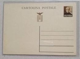 Cartolina Postale Repubblica Sociale Italiana - Non Viaggiata - 4. 1944-45 Repubblica Sociale