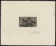(*) N°14 - 2k. Epreuve En Noir Signée PHEULPIN. TB. - France (former Colonies & Protectorates)