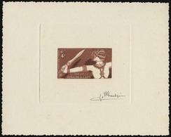 (*) N°15 - 4k. Epreuve En Brun Rouge Signée PHEULPIN. TB. - France (former Colonies & Protectorates)