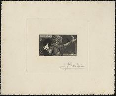 (*) N°16 - 5k. Epreuve En Noir Signée PHEULPIN. TB. - France (former Colonies & Protectorates)