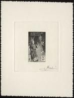(*) N°17 - 10k. Epreuve En Noir Signée PHEULPIN. SUP. - France (former Colonies & Protectorates)