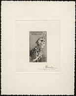 (*) N°19 - 30k. Epreuve En Noir Signée PHEULPIN. SUP. - France (former Colonies & Protectorates)