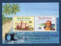 Nouvelle Guinée - YT Bloc N°  - Neuf Sans Charnière - PNG Postal Services - Wold Columbian - 1992 - Guinea (1958-...)
