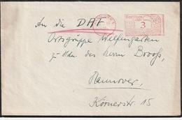 Deutsches Reich / 1939 / Freistempel Hannover Auf Brief (4174) - Deutschland